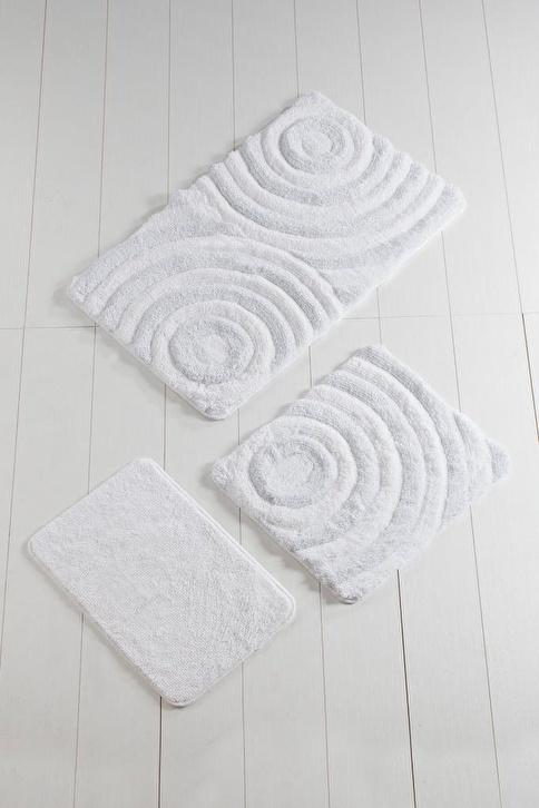 Chilai Home Banyo Paspası Beyaz